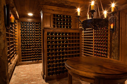 Antique Oak Wine Cellar, Chester NJ