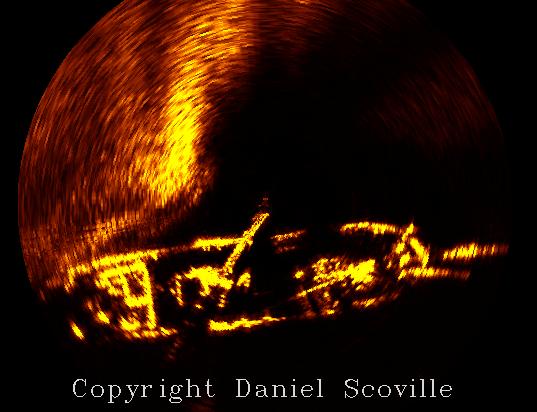 Schooner Sonar Image