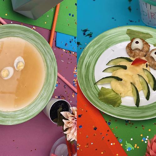 Куриный супчик + Совёнок (детское меню)