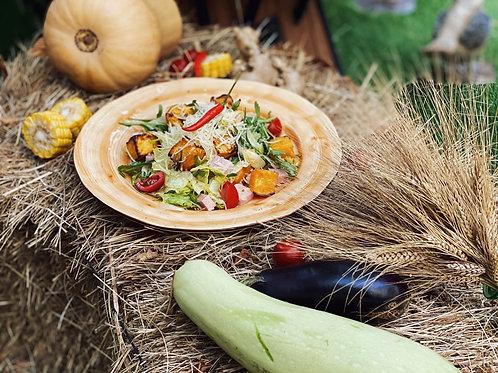 Салат из печёной тыквы