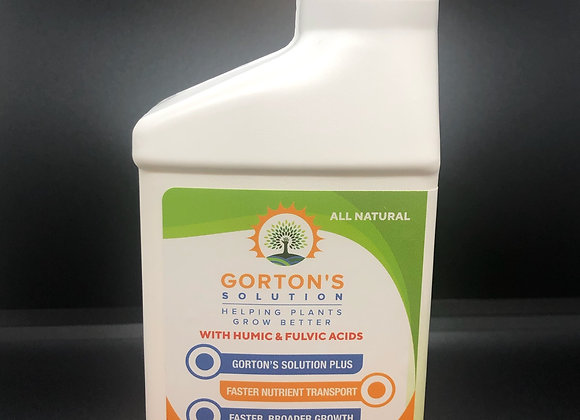 Trial Size Gorton's Solution with Humic & Fulvic Acids 8oz