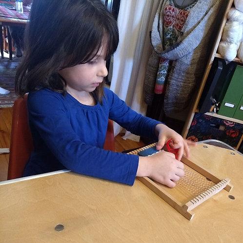 11/27 KIDS Tapestry Weaving
