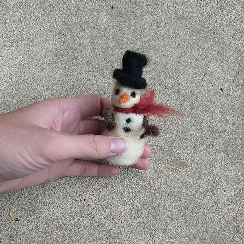 12/8 Needle Felting-Snowfolk