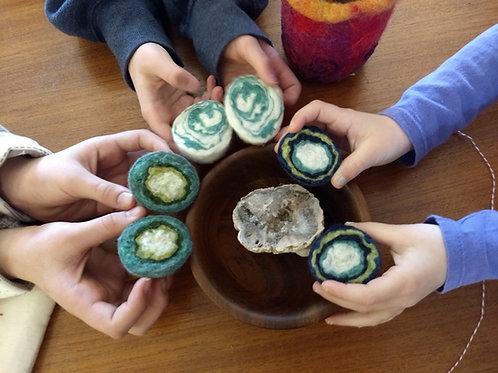 10/3 KIDS Geode Pincushion