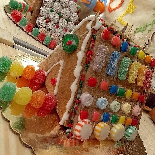 12/11 Kids Vegan Baking-Gingerbread Houses