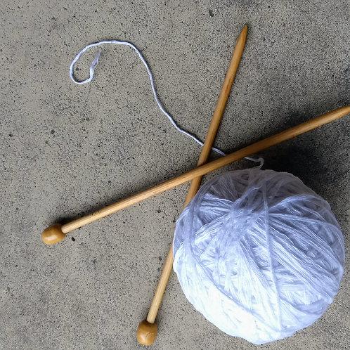 11/6 Beginner Knitting
