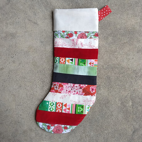 11/21 Patchwork Stocking