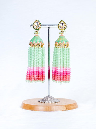 Mystique by Anchal Tassel Jhumkis