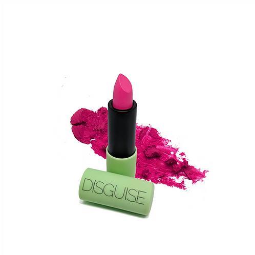 Disguise Cosmetics Satin Matte Lipstick Fuchsia Explorer 01