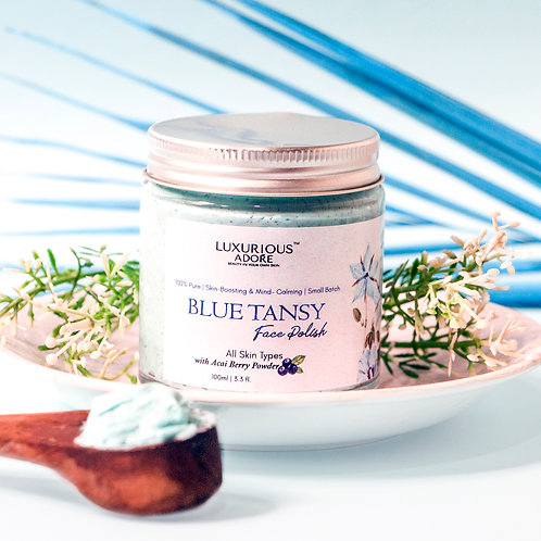 Lunarah Blue Tansy Face Polish