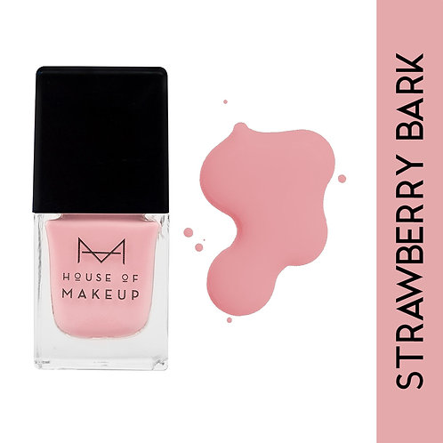 House Of Makeup Matte Nail Lacquer - Strawberry Bark