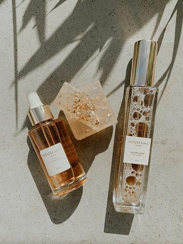 Simrasa Luxuries Hair Gloss + Hair Perfume Combo