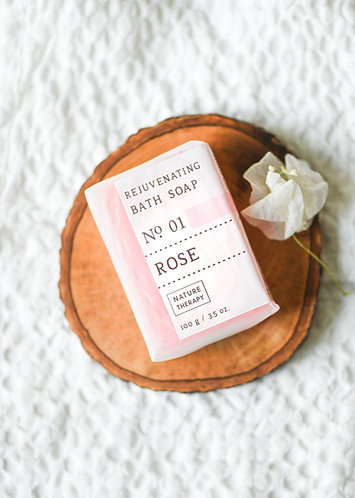 Nature Therapy Rose Bath Soap