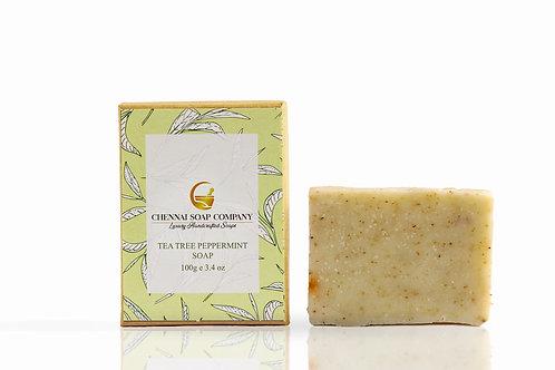 Chennai Soap Company Tea Tree & Peppermint Soap
