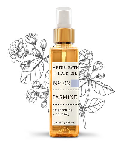 Nature Therapy Jasmine After Bath + Hair Oil