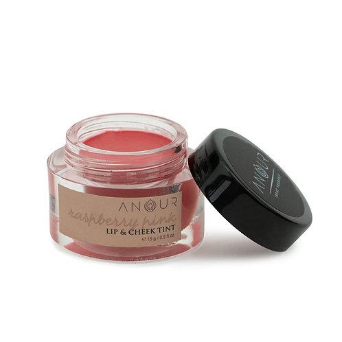 Anour Raspberry Lip & Cheek Tint
