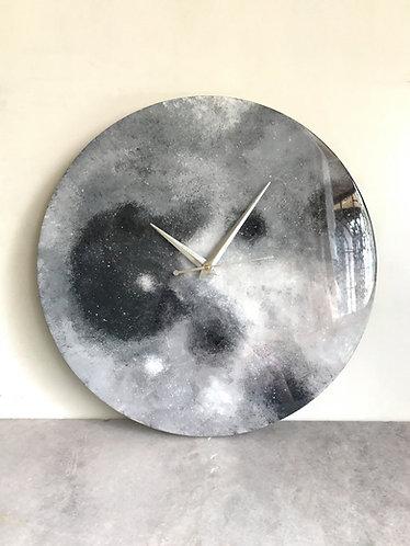 """Rashi Agrawal Art Moon Clock 14"""""""