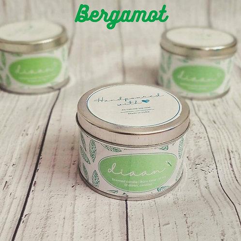 Diaan Bergamot Travel Tin Candle