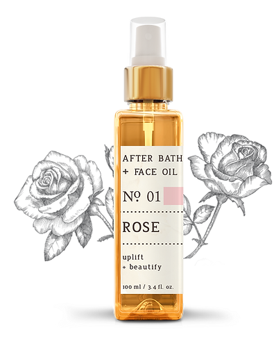 Nature Therapy Rose After Bath + Face Oil
