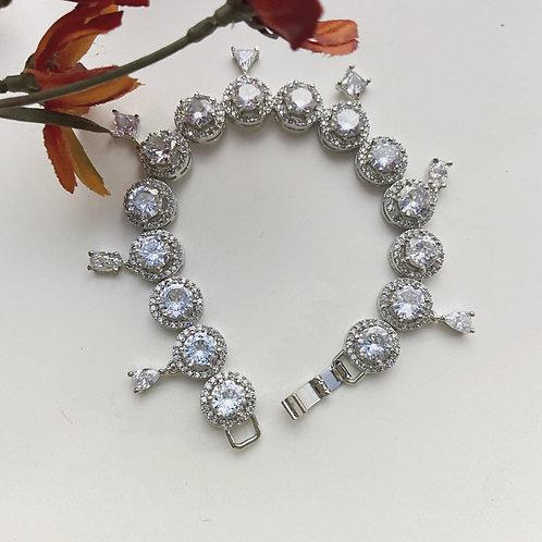 Mozaati Desiree Charm Tennis Bracelets