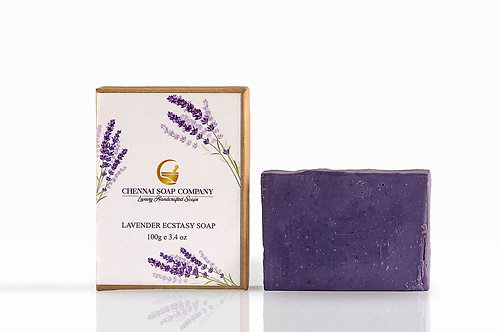 Chennai Soap Company Kashmir Lavender Ecstasy Soap