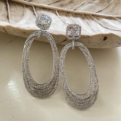 Mozaati Carolyn Dangler Earrings