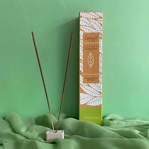 Esscent Lemongrass Premium Flower-Based Incense Sticks