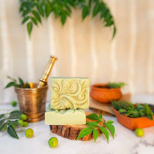 Iktara Neem Organic Cold Processed Soap (Oily & Acne Prone Skin)