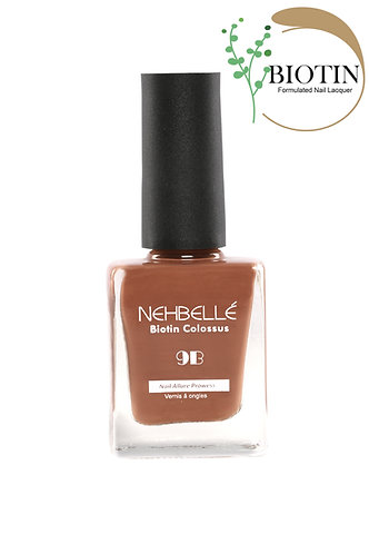 Nehbelle Biotin Colossus Nail Lacquer Rust Outdoors 563