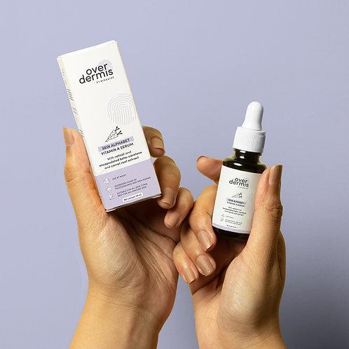 Over Dermis Skin Alphabet Vitamin A Serum