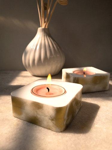 Rashi Agrawal Art Aureate Tealight Holder (Set of 2)