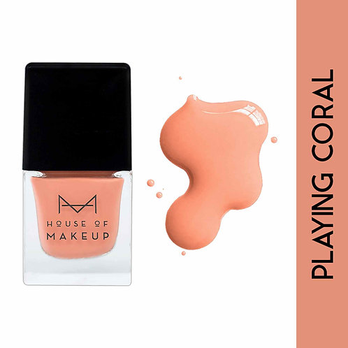 House Of Makeup Nail Lacquer - Playing Coral