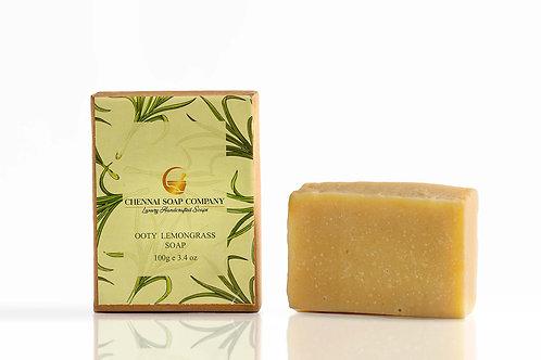 Chennai Soap Company Lemongrass Soap With Hemp Oil