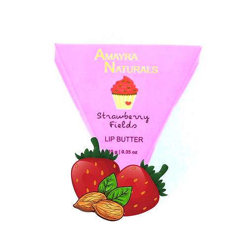 Amayra Naturals Strawberry Fields Lip Butter