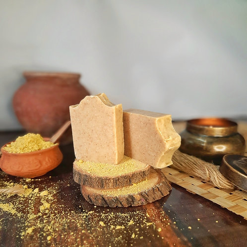 Iktara Ubtan Avarampoo Organic Cold Processed Soap