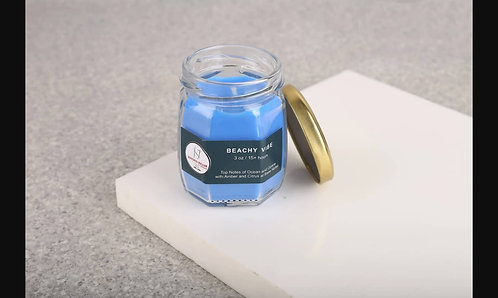 Joyous Beam Beachy Vibe Scented Candle