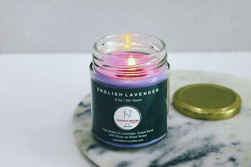 Joyous Beam English Lavender Scented Candle