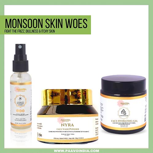 Amayra Naturals Monsoon Skin Woes Combo