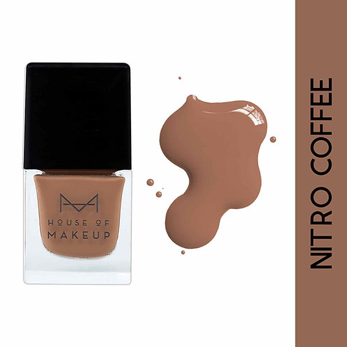 House Of Makeup Nail Lacquer - Nitro Coffee
