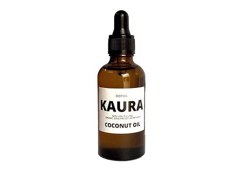 Kaura Deep Oil Extra Virgin Coconut Oil for Hair and Oil-Pulling