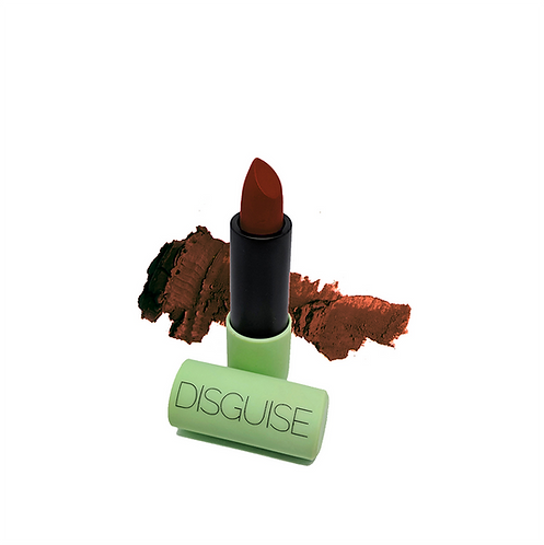 Disguise Cosmetics Satin Matte Lipstick Sienna Racer 12