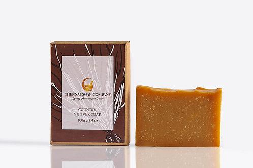 Chennai Soap Company Country Vetiver Soap