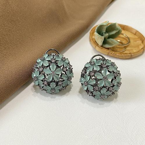 Mozaati Floral Dome Earrings