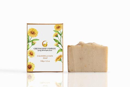 Chennai Soap Company Calendula Oats Baby Soap