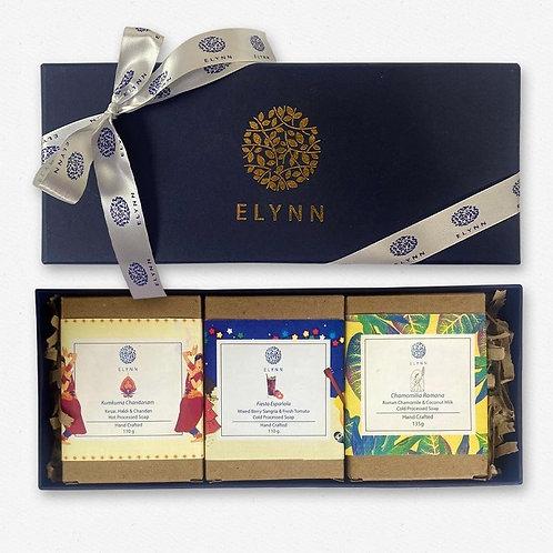 Elynn Luxury Soap Customised Hamper (Set of 3)