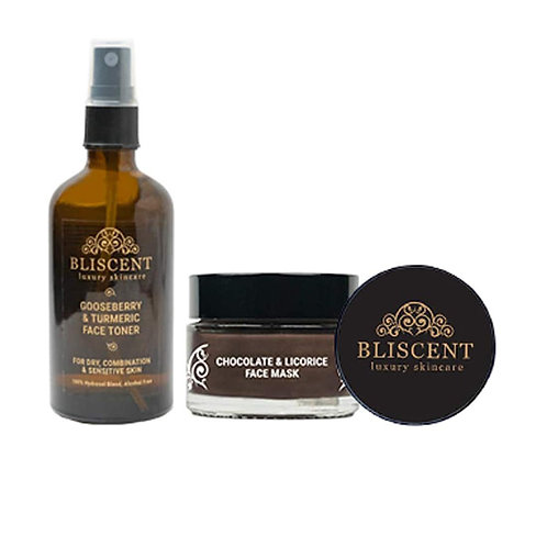 BLISCENT Dry & Combination Skin Rescue Kit