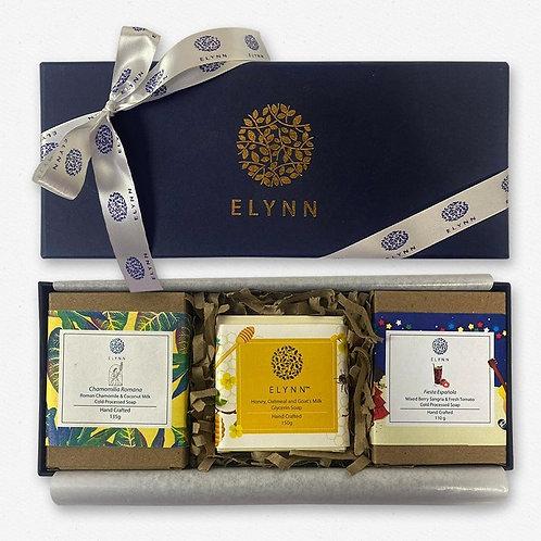Elynn Handcrafted Soap Customised Hamper (Set of 3)