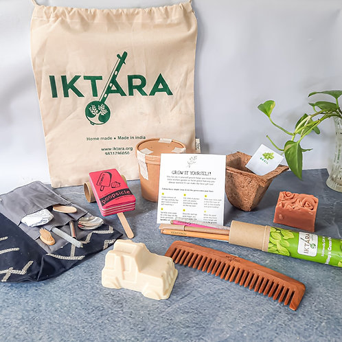 Iktara Conscious Living Gift Hamper With GIY Kit