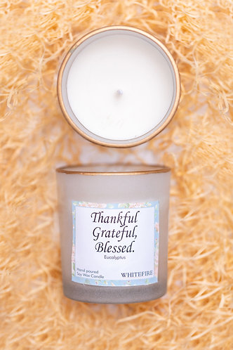 Whitefire Scented Candle - Grateful