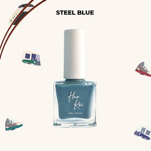 The Harkoi Nail Serum Steel Blue